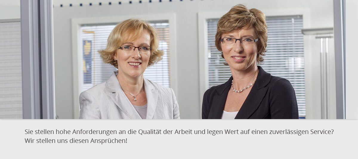 Dr. Anette Nagel und Petra Oerke